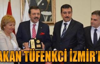 Bakan Tüfenkci İzmir'de