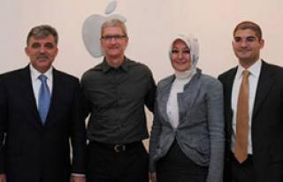 Apple'dan Gül'e Türkçe Klavye Sözü