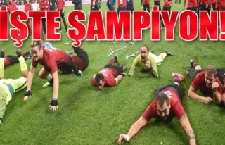 Millilerimiz Tarih Yazdı! Avrupa Şampiyonu Türkiye......