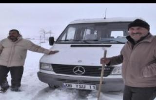 Kar Esareti Sürüyor!