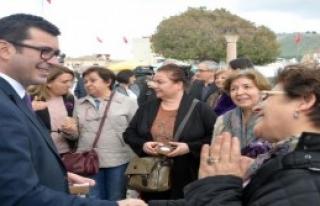 Bergama'da Kadınlar Günü Kutlaması