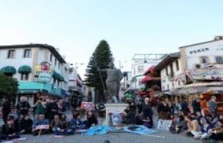 Berkin Elvan Antalya'da Anıldı