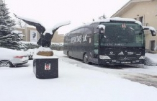 Beşiktaş'a Kar Engeli