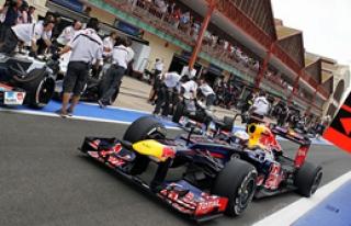 Vettel Açık Ara!