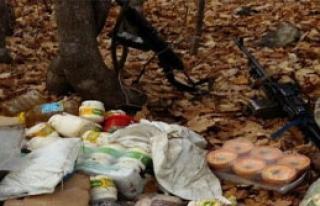 Pkk'ya Ait 5 Sığınak Bulundu