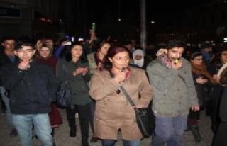 Bingöl'de Gürültülü Protesto