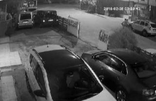 14 Aracın Lastiği Kesenler Yakalandı
