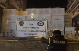 İzmir'de Dev Sahte Rakı Operasyonu