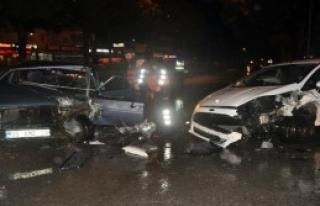 Aydın'da Ters Şerit Kazası!