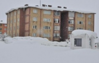 93 Köy Yolu Kardan Kapandı