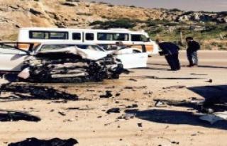 Bodrum'da 2 Otomobil Çarpıştı: 5 Yaralı