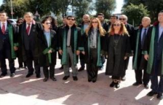 Bodrum'da Avukatlardan Tepki