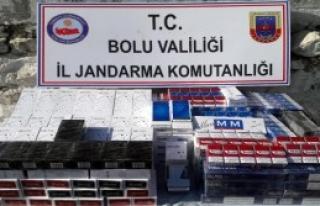 1980 Paket Kaçak Sigara Ele Geçirildi