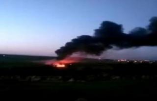 BOTAŞ Petrol Boru Hattında Yangın