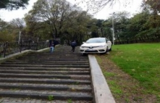 Bu Otomobil Bu Parka Nasıl Girdi ?