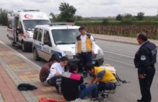 Dövüp Türkiye Sınırına Attı