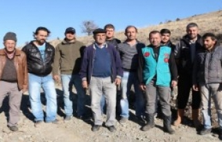Burdur'da Köylüler Lavanta Ekecek