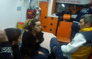 Bursa'da Otomobil Takla Attı