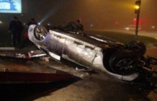 Bursa'da Sis Kazaya Yol Açtı: 2 Yaralı