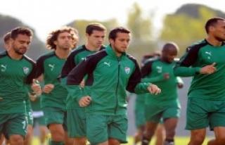 Bursaspor'da Göztepe Maçı Hazırlıkları Başladı