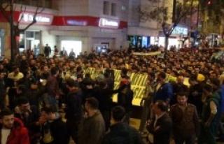 Taraftarlardan Protesto Yürüyüşü