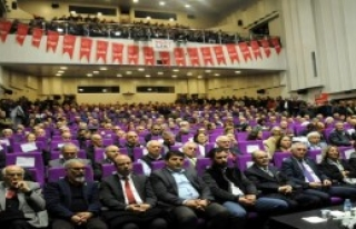 Büyükerşen Trabzon'da Konuştu