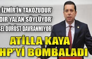 AK Partili Kaya, CHP'yi Bombardımana Tuttu