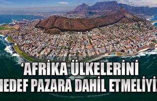 Afrika Açılımı Önerisi