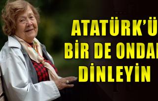 Çığ, İzmirlilere Atatürk'ü Anlatacak