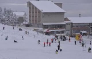 Uludağ'da Kar Kalınlığı 75 Santim