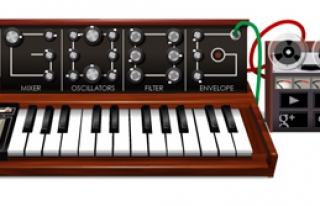 Google Robert Moog'u Unutmadı