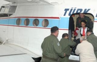 Engelli Çocuklar Uçuş Keyfi Yaşadı