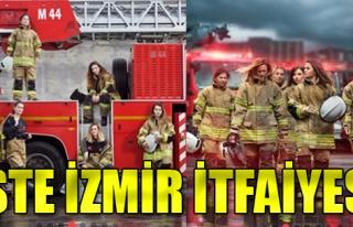İşte İzmir İtfaiyesi