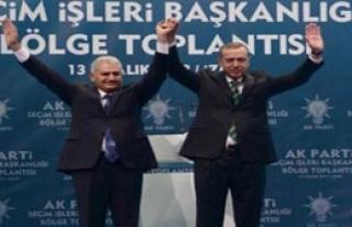 AK Parti'de Yıldırım Sevinci
