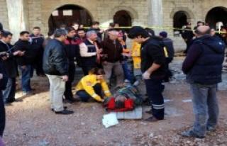 Cami İnşaatında Göçük; 6 Yaralı