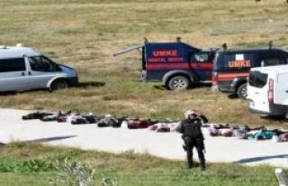 Çanakkale Havalimanı'nda Tatbikat Yapıldı
