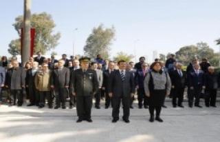 İstiklal Şehitliği'nde Tören Düzenlendi