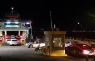 Çanakkale'de Bayram Yolculuğu Çilesi Gece Başladı