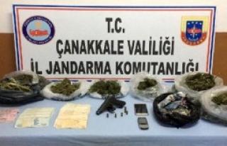 Büfede Uyuşturucu Satışına 1 Gözaltı