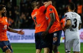 Başakşehir evinde Beşiktaş'ı devirdi