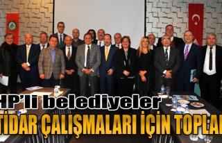 CHP'li Belediyeler İktidar Çalışmaları İçin...