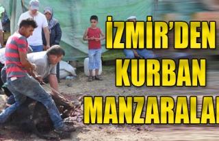 İzmir'den Kurban Manzaraları