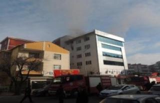 Çerkezköy'deki Okulda Yangın Paniği