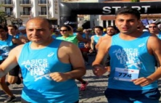 Çeşme'de Maraton Heyecanı