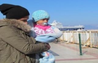Çeşme Açıklarında 44 Suriyeli Yakalandı