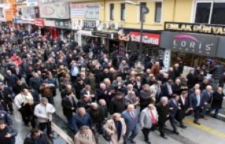 CHP'li Vekiller Düzce İl Başkanı'na Destek Verdi