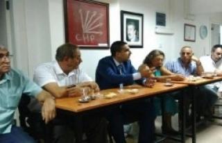 CHP Karabağlar'da Sandık Sorumlularını Belirledi