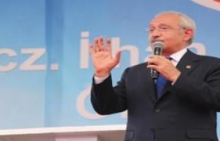 CHP Lideri Kılıçdaroğlu Samsun'da