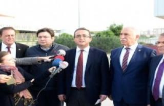 CHP'li Heyetten Silivri Ziyareti