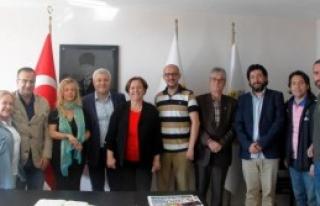 CHP'li Özkan'dan İGC'ye Ziyaret
